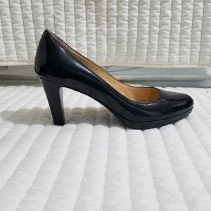 Cole Haan Patent Leather Black Pumps Heels